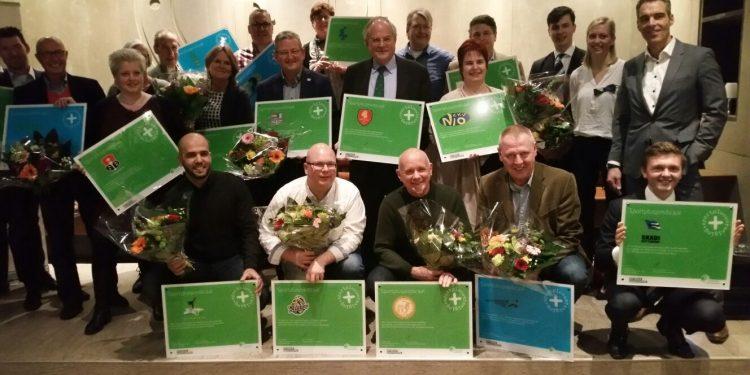Alle 18 trotse Sportplusverenigingen!