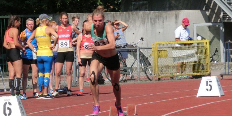 Janneke WK 14kamp start 400m