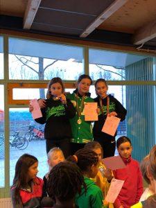 Yenthe, Georgina en Zoë 11-2-2018 Zoetermeer