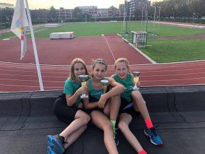 Georgina, Yenthe en Tessa